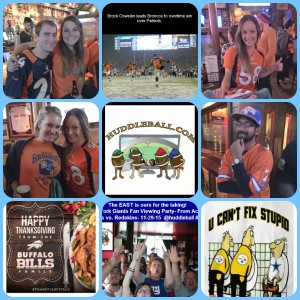Denver Broncos Fan Viewing Party From Nickies, SF