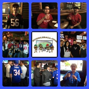 Random Photos For Week 14- San Francisco Houston Texans Fans at Cabin & Buffalo Bills Fans at the Northstar Cafe