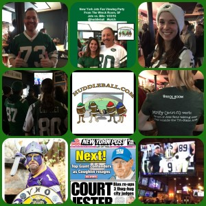 Jets vs. Bills Fan Viewing Party- From The Wreck Room, SF