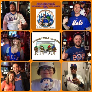 Random Photos Week 8- New York Mets Fan Viewing Party From Aces, SF Game 3 of the World Series